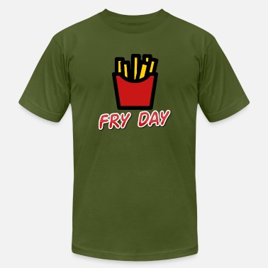 Fry-day Fry Day - Men's  Jersey T-Shirt