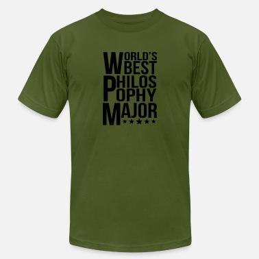 b84e383e Philosophy Major World's Best Philosophy Major - Men's. Men's  Jersey T-Shirt