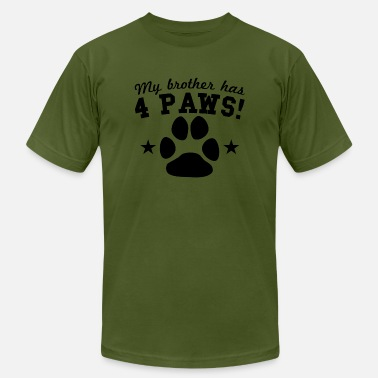 My Brother Has 4 Paws My Brother Has 4 Paws - Men's  Jersey T-Shirt