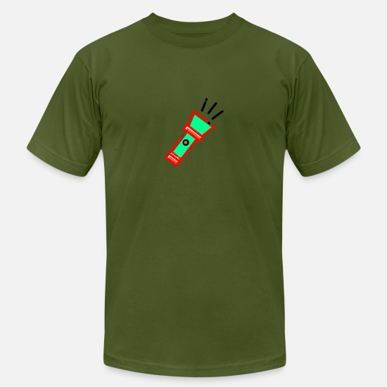 Light T-Shirts - torch light - Men's Jersey T-Shirt olive