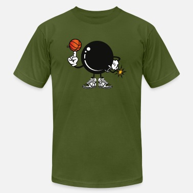 Basketball team bomb explosion - Men's Jersey T-Shirt