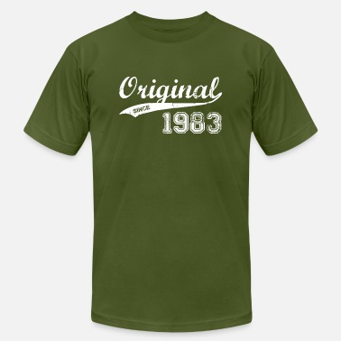 1983 Funny 1983 - Men's Fine Jersey T-Shirt