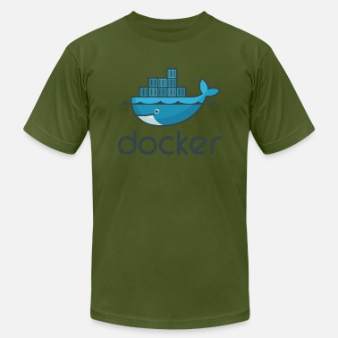 Docker Docker - Men's  Jersey T-Shirt