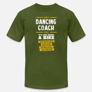 Dance Coach dancing coach - Men's  Jersey T-Shirt