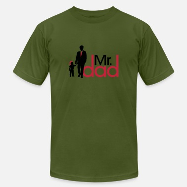Father's Day Papa Father's Day Mr Dad T-shirt - Men's  Jersey T-Shirt