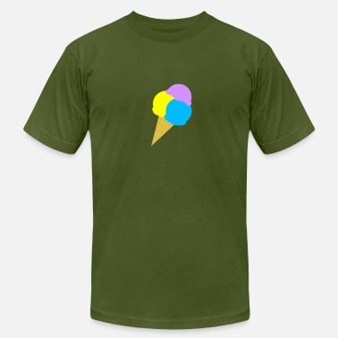 Blue Waffle IceCream - Men's  Jersey T-Shirt