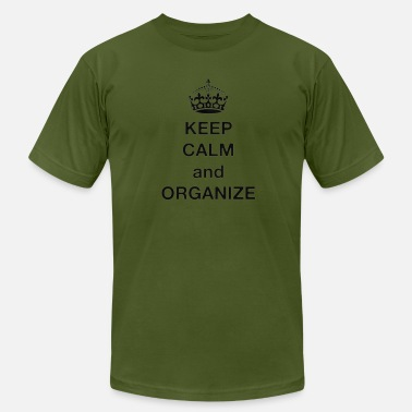 Dry Fit Keep calm and Organize - Men's  Jersey T-Shirt
