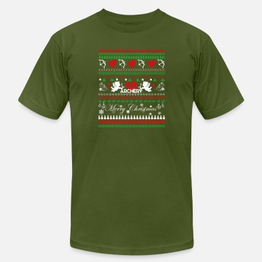 Archery Clothing Archery Shirt - Archery Christmas Shirt - Men's  Jersey T-Shirt