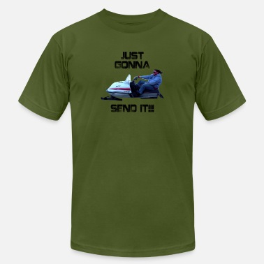 Larry Enticer Just Gonna Send It Larry Enticer Tee Shirt - Men's Jersey T-Shirt