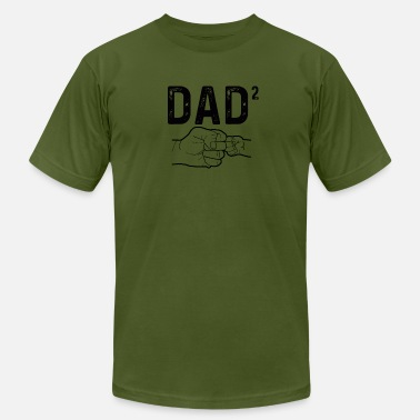 Two Dads Dad Of Two - Men's  Jersey T-Shirt