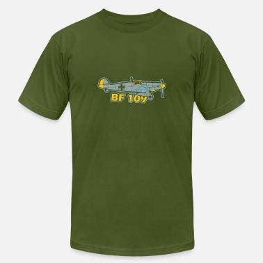 548d63b6b Bf 109 Jet Pilot WW2 World War German - Men's Jersey T. Men's Jersey T- Shirt