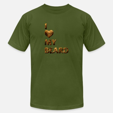 Love My Beard I Love My Beard - Men's  Jersey T-Shirt