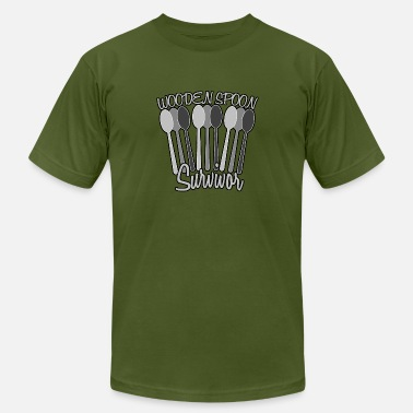 Wooden Leg wooden spoon survivor vectorized - Men's Fine Jersey T-Shirt