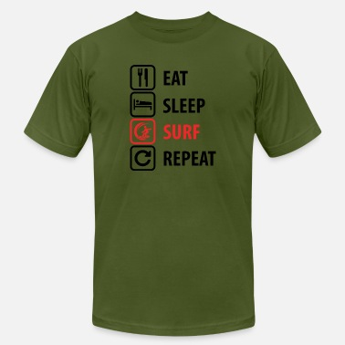 Surf And Sea Surf. Surfer. Ocean. Sea - Men's  Jersey T-Shirt