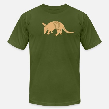 Armadillo armadillo texas turkey hillbilly - Men's Jersey T-Shirt