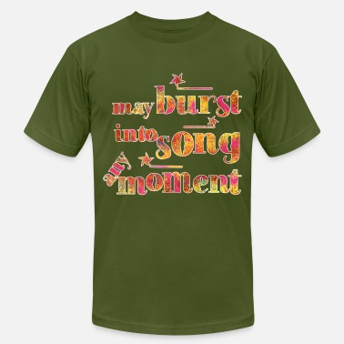 Shouter May burst into song any moment! - Men's Jersey T-Shirt