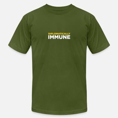Diplomatic Diplomatically Immune! - Men's  Jersey T-Shirt