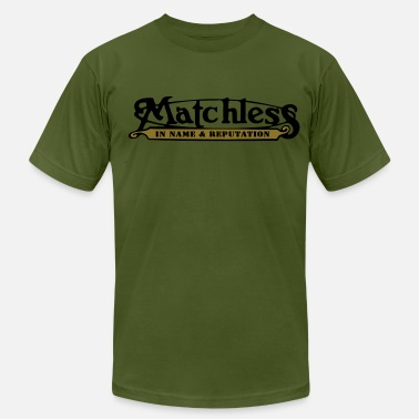 Matchless Motorcycle matchless - Men's Fine Jersey T-Shirt