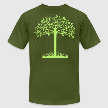 Tree - Men's Fine Jersey T-Shirt