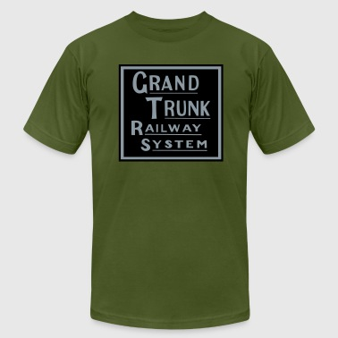 Grand Trunk Railway - Men's Fine Jersey T-Shirt