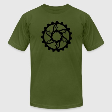 heart gears - Men's Fine Jersey T-Shirt