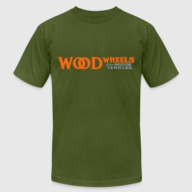 wood - Men's Fine Jersey T-Shirt