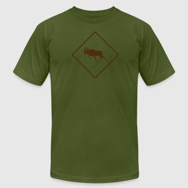 Moose Crossing - Men's Fine Jersey T-Shirt