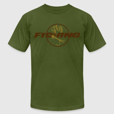 fly fishing2 - Men's Fine Jersey T-Shirt