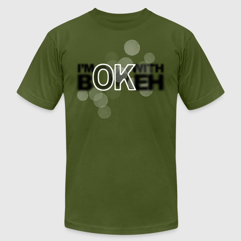I'm ok with Bokeh - Men's Fine Jersey T-Shirt
