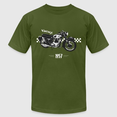 Vintage motorcycle - Men's Fine Jersey T-Shirt
