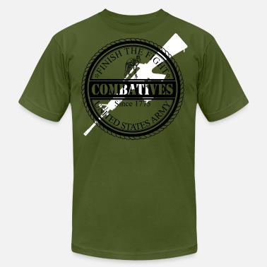Army Combatives MACP Finish The Fight Design - Men's  Jersey T-Shirt