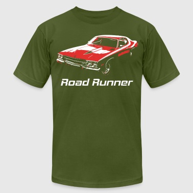 road runner - Men's Fine Jersey T-Shirt