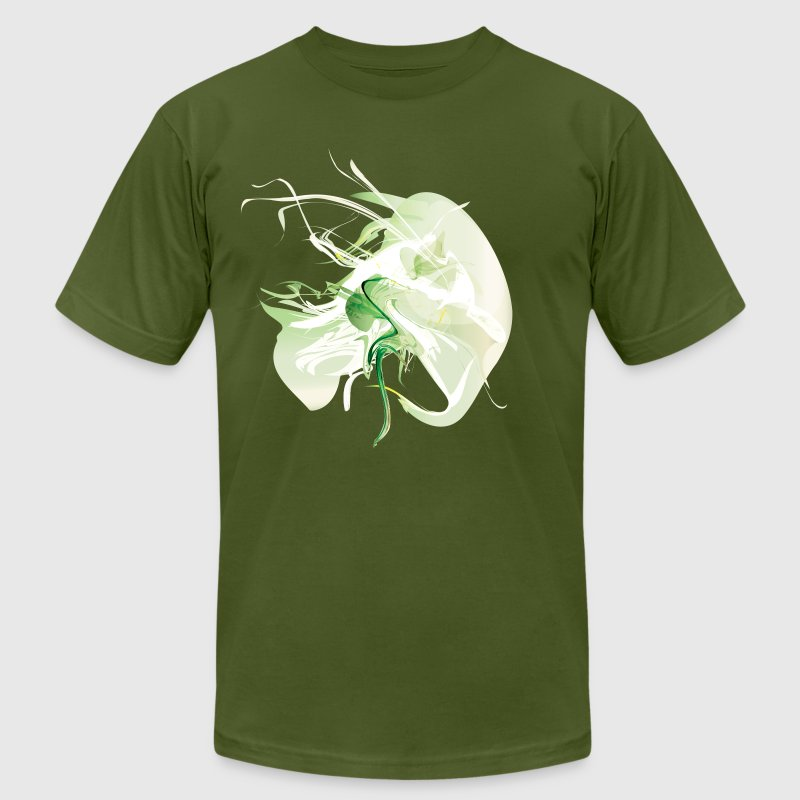 Cool Green Smoke Graphic - Men's Fine Jersey T-Shirt
