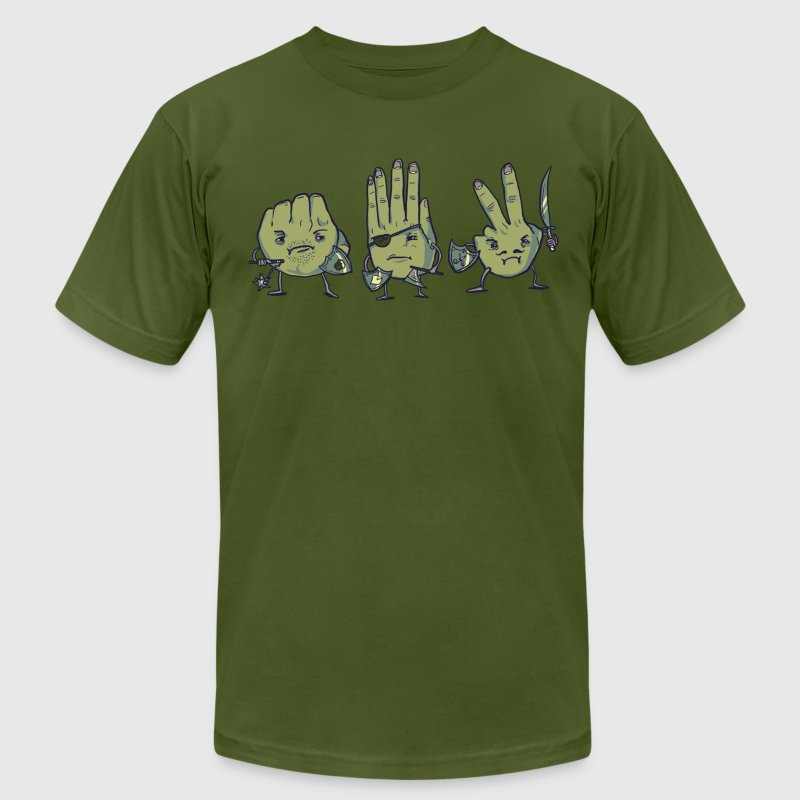 Rock Paper Scissors - Men's Fine Jersey T-Shirt