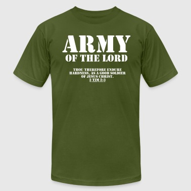 Army of the Lord, Christian T-Shirts with Bible Ve - Men's Fine Jersey T-Shirt