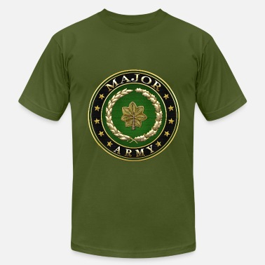 Army Major Rank Insignia Major (MAJ) Rank - Men's  Jersey T-Shirt