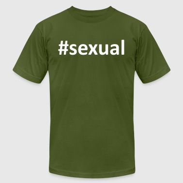 Hashtag Sexual - Men's Fine Jersey T-Shirt
