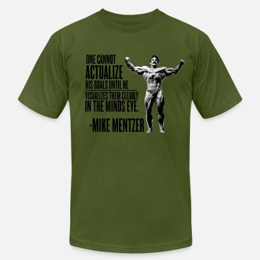 Mr Universe Bodybuilder Believe and Achieve - Men's Jersey T-Shirt