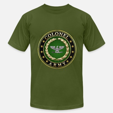 Army Major Rank Insignia Army Colonel (COL) Rank Insignia 3D  - Men's Jersey T-Shirt