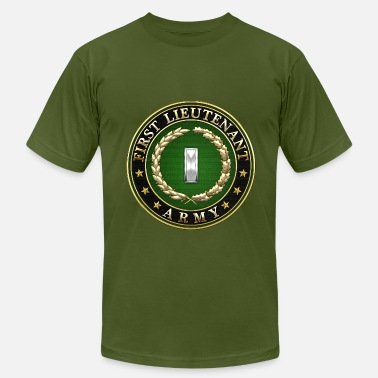 Army Major Rank Insignia First Lieutenant (1LT) Rank Insignia 3D  - Men's  Jersey T-Shirt
