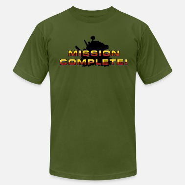 Mission Complete Mission Complete! - Men's  Jersey T-Shirt