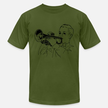 Trumpet-player Trumpet Player - Men's Jersey T-Shirt