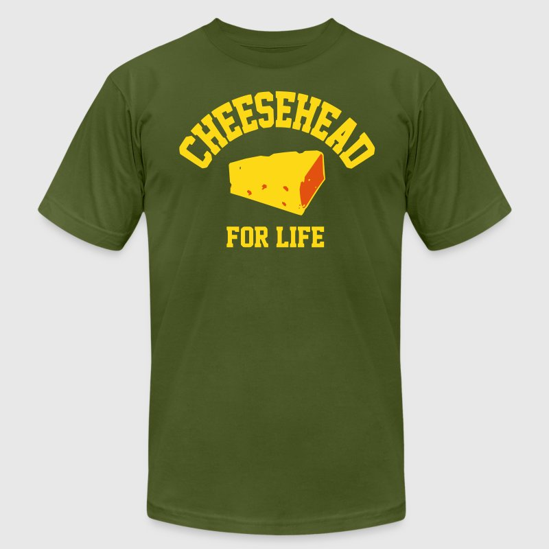 Cheesehead for life - Men's Fine Jersey T-Shirt