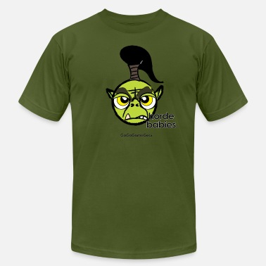 World Of Warcraft Kids Warcraft: George the Orc - Men's Fine Jersey T-Shirt