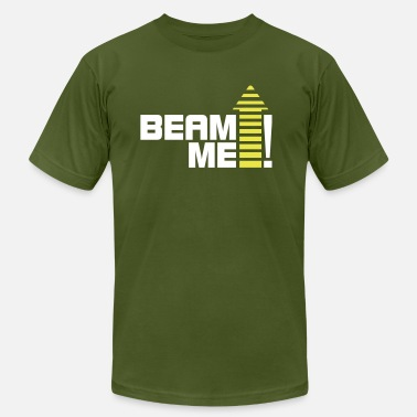 Beam Me Up Scotty Beam me up 1_2c - Men's  Jersey T-Shirt