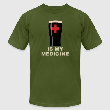 Beer Is My Medicine - Men's Fine Jersey T-Shirt