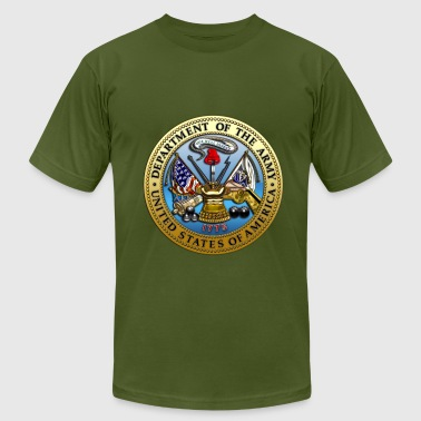 Us Army Apparel US Army Seal - Men's Fine Jersey T-Shirt