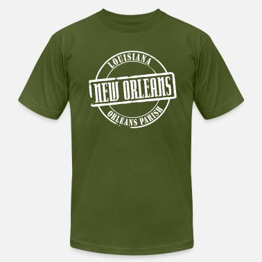 New Orleans Title B - Men's Fine Jersey T-Shirt