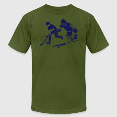 Field Hockey Player Field Hockey Player - Men's Fine Jersey T-Shirt