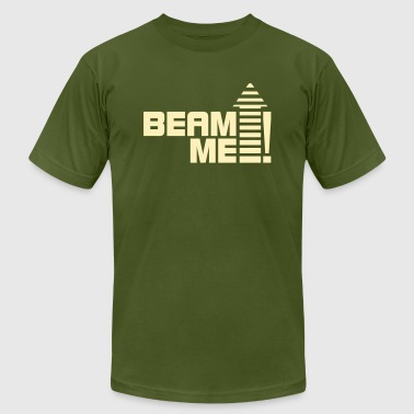 Beam me up 1_1c - Men's Fine Jersey T-Shirt